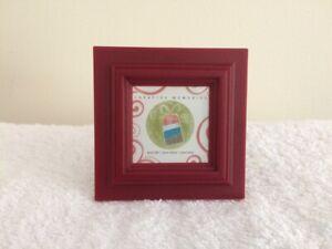 Creative Memories Mini Frame - Burgundy