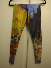 BlackMilk Le Cafe XS printed nylon leggings BNWoT