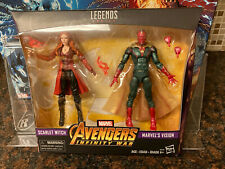 Marvel Legends SCARLET WITCH WANDA VISION WANDAVISION INFINITY WAR 2 PACK