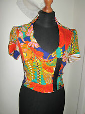 Lulu and & Rouge 1950 S Veste 8 style oriental couleur