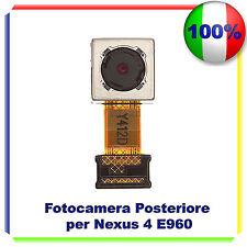 FOTOCAMERA POSTERIORE RETRO CAMERA BACK PER LG NEXUS 4 E960