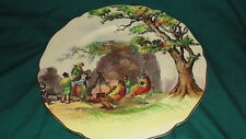 "VINTAGE ROYAL DOULTON PLATE ""THE GIPSIES"" - ENGLISH SCENES"
