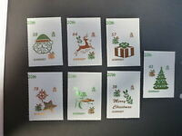 2016 GUERNSEY CHRISTMAS SET 7 MINT STAMPS MNH PEEL & GO