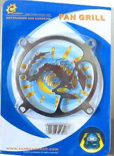 80mm Laser Cut Steel Fan Grill, Scorpion
