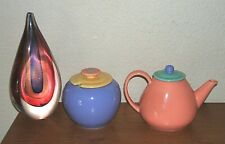 LINDT-STYMEIST COLORWAYS CREAMER AND COVERED SUGAR BOWL JAPAN
