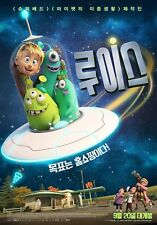 Luis and the Aliens 2018 Korean Mini Movie Posters Movie Flyers (A4 Size)