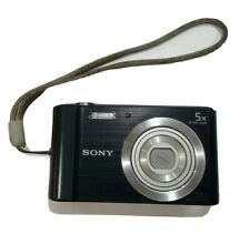 Sony Cyber-shot DSC-W800 20.1MP Compact Camera - Black - GUC