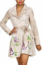 BNWT - Desigual sasha mac floral print trench coat - M, UK 12