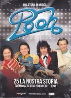 Dvd + Libretto POOH ~ 25 LA NOSTRA STORIA ~ CREMONA TEATRO PONCHELLI nuovo 1991