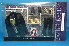 Barbie Basics Collection 2.5 Jeans Look 02 NRFB Black & Gold Super RARE