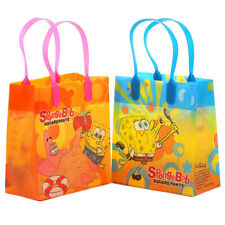 12PCS SpongeBob Squarepants Goodie Party Favor Gift Birthday Loot Bags Licensed