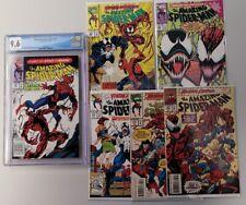 Amazing Spider-Man 361 CGC 9.6 NEWSSTAND Plus 362, 363, 374, 379, 380  - 6 BOOKS