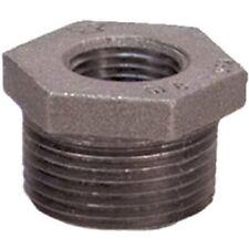 "Anvil Steel Pipe Fitting, Hex Bushing, 1/4"" NPT Male x 1/8"" NPT Female, Black"