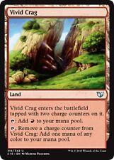 MTG Magic - (U) Commander 2015 - 4x Vivid Crag x4 - NM/M