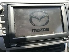 2009 2010 2011 MAZDA 6 NAVIGATION DVD CD PLAYER RADIO w/ GPS ANTENNA AND NAV DVD