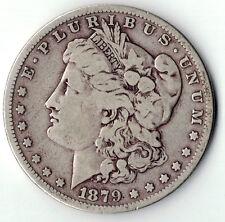 1879-P Morgan Dollar U.S. 90% Silver $1 Coin