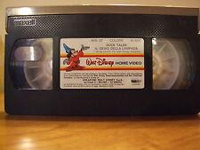 """WALT DISNEY RARA VHS """"DUCK TALES IL GENIO DELLA LAMPADA"""" SENZA COVER E CUSTODIA"""