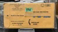 1974 ALASKA LICENSE PLATE PAIR - NOS (AG328)