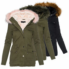 Damen Winterjacke mit Fellkapuze günstig kaufen | eBay