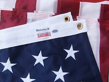 4x6 FT US American Flag Valley Forge Flag Duratex II Tricot Knit Poly Fully Sewn