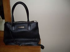 Donna Karen DKNY Soft Ego Lether Satchel Bag Black $365