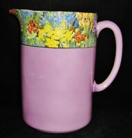 Royal Staffordshire Pottery - Wilkinson England - Lavender Floral- Large Pitcher