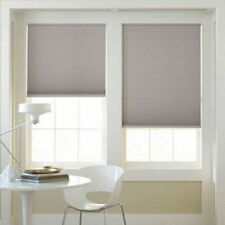 "Cordless Light-Filtering Cellular Shade 39"" x 64"" Rockefeller Gray"