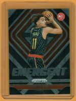 2018-19 Trae Young Panini Prizm Rookie Insert Card Emergent #5 RC SP HAWKS PSA?
