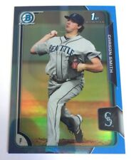 2015 Bowman Chrome Carson Smith Twitter Refractor 4/10 Red Sox