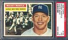 1956 Topps — Mickey Mantle #135 (White Back) — PSA 3 — HIGH END