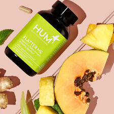 Hum Nutrition FLATTER ME - 60 Vegan Capsules - Exp: 12/2022