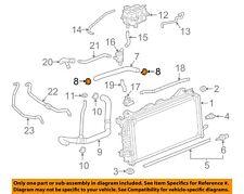 GM OEM Radiator-Upper Hose Clamp 11516234
