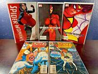 Marvel Comic SPIDER-WOMAN 1st Issue Lot 2016 2009 1993 Bendis Hopeless Set 1 2 3