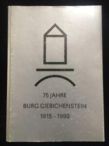 75 Jahre Burgs Giebichenstein - Ausstellungskatalog Halle 1990 - 304 Seiten