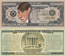 Tom Cruise Caricature Million Dollar Tract Funny Money Novelty Note FREE SLEEVE