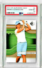 2012 SP Authentic Golf Annika Sorenstam PSA 10