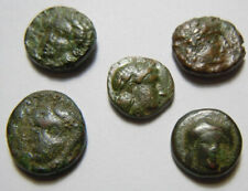 New ListingAncient Greece , Aeolis , Grynion, Kyme , Larissa Phrikonis , Temnos Ae10 -11mm