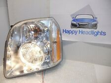 OEM 2007-2014 GMC Yukon Left Driver Side Halogen Headlight Lamp Tested 07-14