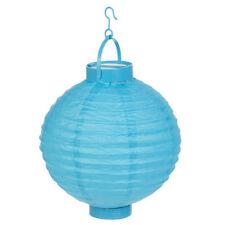 Décorations de fête lanternes bleus pour la maison