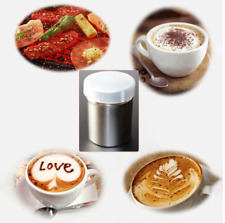 New listing Stainless Steel Chocolate Shaker Icing Sugar Powder Cocoa Flour Coffee Sifter Dr