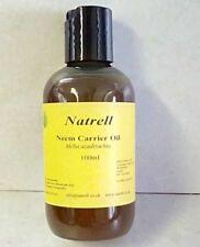 100ml, Neem Carrier Oil