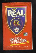 Real Salt Lake--2007 Pocket Schedule--Snowbird