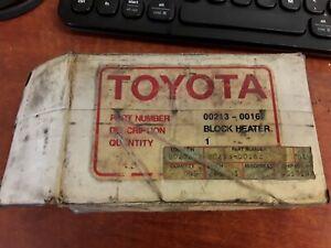 Toyota Block Heater 00213-00162
