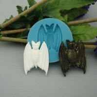 Silicon Mold Bat Jewelry Making Resin Polymer Clay