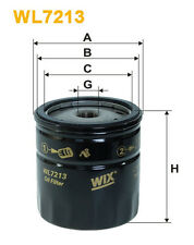 WIX WL7213 Car Oil Filter - Spin-On Replaces W71314 PH2869 OC19