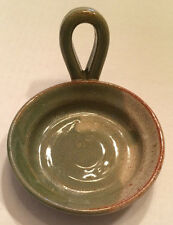 Mudworks Handmade Pottery Handled Candle Holder Made in PA, USA