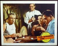 Poker Ben Gazzara The Strange One ORIGINAL 1950s Lobby Card Poker Chips