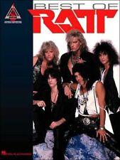 Ratt Best Of Guitar Recorded Versions Tab Book NEW!