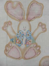 Harvey Rabbit Easter Wallhanging  Panel cotton fabric