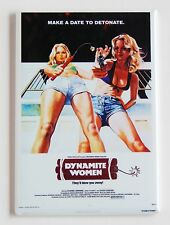 Dynamite Women Fridge Magnet (2.5 x 3.5 inches) movie poster exploitation